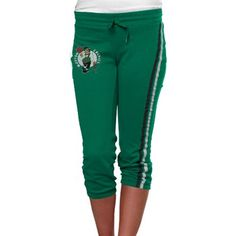 Boston Celtics Ladies Clearly Fan Capri