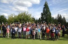 A very special round of golf in memory of Hans Luking at the 2014 7th Annual NightShift Golf Charity