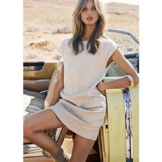 camel colored dress