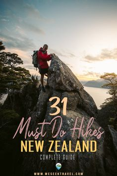 The complete list of the absolute best hikes in South Island New Zealand! Hand-picked day walks and overnight tramps from the wildlife coast of Kaikoura to the jurassic Fjordlands. New Zealand Itinerary, New Zealand Travel Guide, Canterbury New Zealand, Canterbury Travel, Milford Track, Lake Tekapo, New Zealand South Island, Great Walks