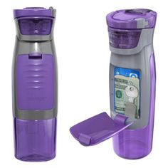 Water Bottle with Card Holder $14.99