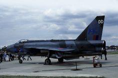 Lightning: XP741 Lightning F.3 RAF Upper Heyford