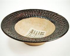 Unique ceramic bowl Nerikomi Japanese decoration by CeramicART4U