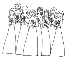 Wedding Coloring Book | coloring page of weddings