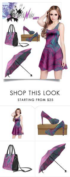 Asia Dragon - Animal Print Design by cglightningart on Polyvore featuring Mode  #asia #dragon #scales #snake #reptile #fish #skin #animal #pink #purple #green #colorful #dress #clothing #fashion #handbag #highheels #highheeled #shoes #umbrella