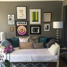 Deanna's Art Filled Townhouse — House Call | Apartment Therapy