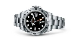Discover the Explorer II watch in 904L steel on the Official Rolex Website. Model: 216570