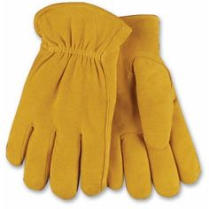 Kinco 903HK Mens Work Gloves Lined Suede Deerskin Leather Thermal Warm Winter #Kinco