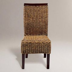 one of my favorite discoveries at worldmarketcom kaya woven dining chairs set - Woven Dining Room Chairs