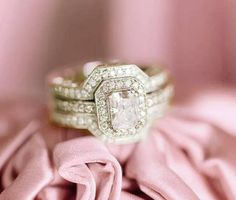 260 Best Wedding Ring Images On Pinterest In 2018 Vintage Rings