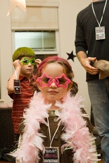 Rock star party...my kids will have this party... lol!