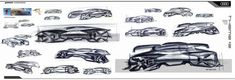 Audi Paon 2030 Concept by Lucia Lee Design Sketches - Car Body Design Audi, Sketching Techniques, Futuristic Cars, Car Sketch, Design Language, Transportation Design, Automotive Design, Concept Cars, Exterior Design