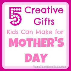 Get more ideas on what to get your mother by visiting RewardsGold's twitter! Homemade mother's day gifts from kids