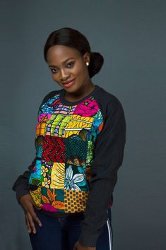 African print ankara tops can be styled in many different ways. Wax prints like ankara, kente, kitenge & dashiki are just a few of the well known prints African prints. See 20 unique ankara tops we can't get enough of this year. African Print Shirt, African Print Fashion, African Prints, Ankara Fashion, Africa Fashion, Tribal Fashion, Ankara Tops, African Wear Dresses, African Attire