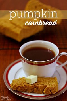 Are you looking for snack or side that says fall? This homemade pumpkin cornbread is delicious and easy.  Within 30 minutes you'll have a homemade treat for your family.