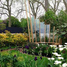 Elisa Adams' image of the East Village show garden