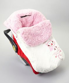 Another great find on #zulily! Winter White Shearling Footmuff by Gagou Tagou #zulilyfinds