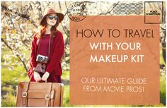 Just got booked for a dream job out of town? Today on Glossible, movie pro Desiree Falcon shares all her tips and tricks on how to travel with your makeup kit....it's a great one!