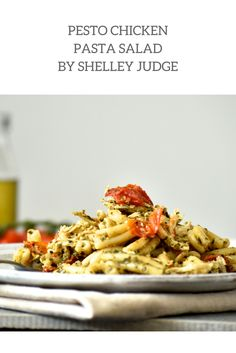 Impress your family and friends at your next casual lunch or dinner party with this Pesto Chicken Pasta Salad recipe by Angelo's feature foodie, Shelley Judge. We love this recipe because it is healthy, quick and oh so easy to make!