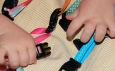 Clip Toy for Toddlers- Mesmerizing and attention grabbing, this craft is a great distraction for kids, so no matter where they are, they have something to do.