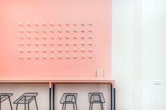Zentralnorden's Spooning Sweets Shop in Berlin Wraps Itself in Millennial Pink