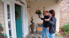 There was a lot of suspense surrounding the announcement of our 2012 Eagle winner.. the Glover's were not expecting a knock on their front door!