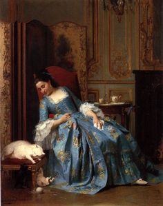 by Gustave-Leonard de Jonghe (Belgian 1829-1893)