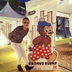 Instagram media sunnysmilesammy - 北欧の本場のクリスマスが体験できるTRAVELLER in 北欧クリスマスストリート 北欧の可愛い雑貨やごはんも食べれて、楽しいイベントでした!  こちら RASMUS KLUMP デンマークでの知名度99%らしいです!