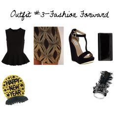 """""""Untitled #37"""" by aymxamorefashiondore on Polyvore    http://www.universitychic.com/article/5-outfit-ideas-new-years-eve    #UChic"""