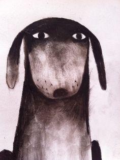 jonklassen   Idea: Simple sketches in charcoal