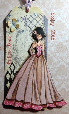 Paper ink and Glue: Splicing Prima Dolls again ♡