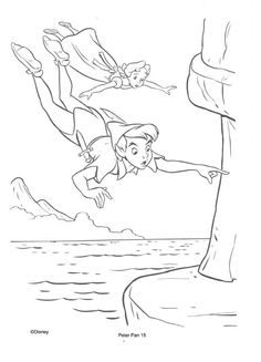 17 best peter pan disegni da colorare images in 2013 for Immagini peter pan da colorare