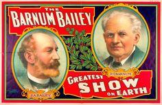 The Barnum Bailey greatest show on earth circus poster (1908)
