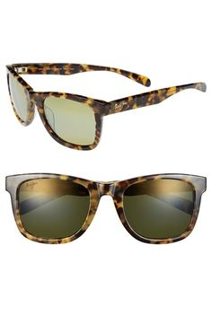 Maui+Jim+'Legends'+54mm+Polarized+Retro+Sunglasses+available+at+#Nordstrom