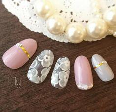 "15 Likes, 1 Comments - Lily 〜cosme&nails〜 (@cosme.nail.lily) on Instagram: ""サンプル組み換えでスモーキーカラーに  ご予約はネイルブックからのネット予約が便利です❗  https://nailbook.jp/salon/17828/  #nails #nailart…"""