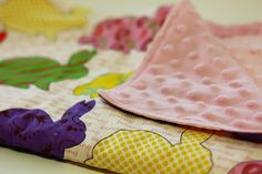 Tips For Sewing With Minky Fabric - these are excellent.