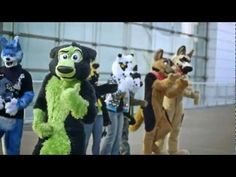 Telephone - AC 2013 Fursuit Dance Competition Finals - YouTube
