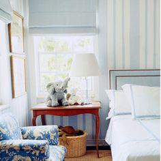 We love this sweet little boys room via our #Pinterest. #tuckedinthursday