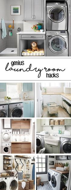 10 Laundry Room Ideas We're Obsessed With Storage Shelves Ideas Laundry room decor Small laundry room organization Laundry closet ideas Laundry room storage Stackable washer dryer laundry room Small laundry room makeover A Budget Sink Load Clothes Animal Room, Laundry Room Organization, Laundry Room Design, Laundry Rooms, Laundry Closet, Laundry Cart, Laundry Drying, Mud Rooms, Small Laundry