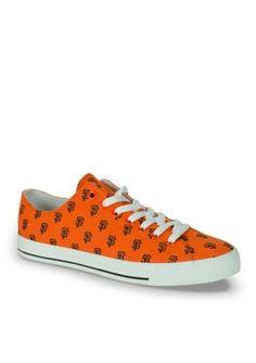 f88cecc862 Row One Brands Women s Unisex Mlb San Francisco Giants Low Top Shoe -  Orange - 6.5