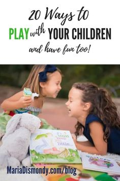 20 Ways to Play with Your Children (and have fun too!) - mariadismondy.com Teaching Character, Character Education, Swing And Slide, Make Funny Faces, Family Game Night, Three Kids, Summer Activities, Make Time, My Children