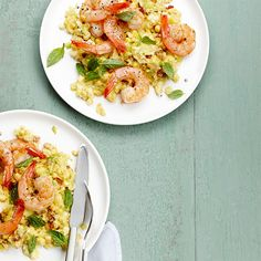 Shrimp and Sweet Corn Grits - WomansDay.com Use Food Processor to make the Corn Grits