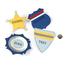 Community Hero Badges - perfect for 2015 CSLP.  Your readers can craft their own badges - featuring their own names, or the names of characters in their books!
