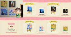 Animal Crossing Qr Codes Clothes, Animal Crossing Pocket Camp, Animal Crossing Game, Code Wallpaper, Funny Iphone Wallpaper, Cute Paintings, Animal Paintings, Motif Photo, Mushroom Paint