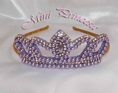 Tiara Coroa MiniPrincesa Luxo