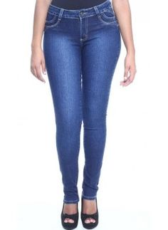 Jeans push-up brasiliani vita alta blu Sawary cod. 233295