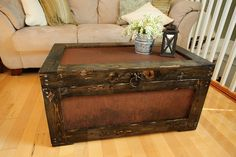 Beautiful Hope chest! This is what I'd love aunt Patsy to do with mine.
