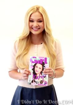 Olivia Holt: Total Girl June 2014 Feature! | Magazines, Olivia Holt, Photos