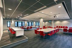 Acoustic ceiling ROCKFON (Color-all + Mono Acoustic) OCLC Leiden