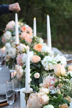 Prepping the tablescape | Design & Florals by Forever Wildfield - www.foreverwildfield.com